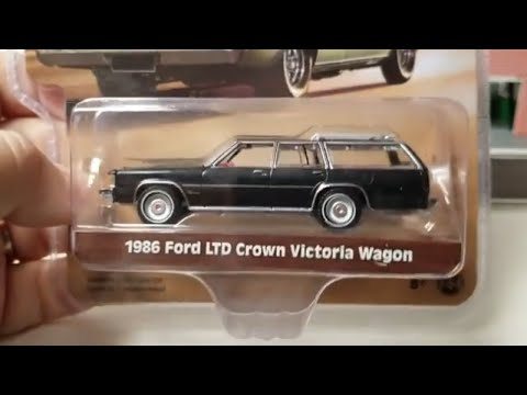 Wagon Wednesday Greenlight estate wagons series 2 green machine mercury