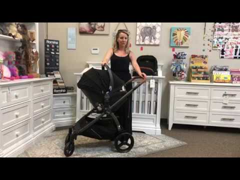 Agio Z4 Stroller Travel System with Nido Infant Car Seat