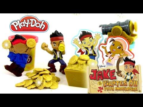 Pâte à modeler Jake et les pirates du pays imaginaire Créations Ile au Trésor Treasure Creations