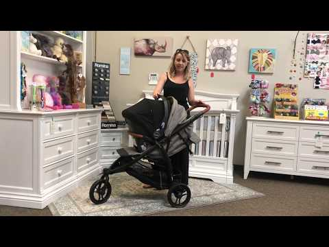 Agio Z3 Stroller Travel System with Nido Infant Car Seat