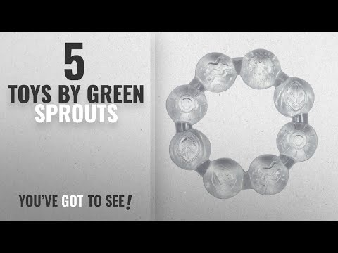 Top 10 Green Sprouts Toys [2018]: green sprouts Ring Cool Soothing Teether