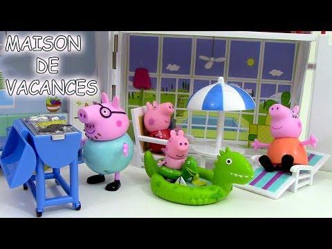 Peppa Pig Maison de vacances Holiday Sunshine Villa Playset ♥ Jouets de Peppa Pig en francais