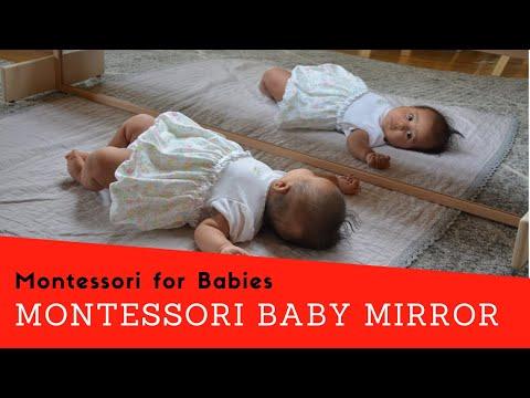 The Montessori Baby Mirror   Montessori for Babies