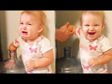 Trouble Baby MAKING CRAZY Things   Funny Baby And Pet