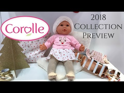 2018 Corolle Collection Preview - Toy Fair