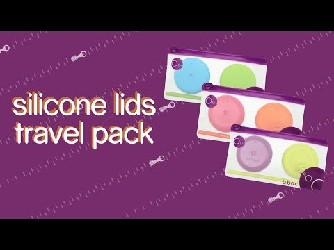 Silicone Lids Travel Pack - Zip n Go